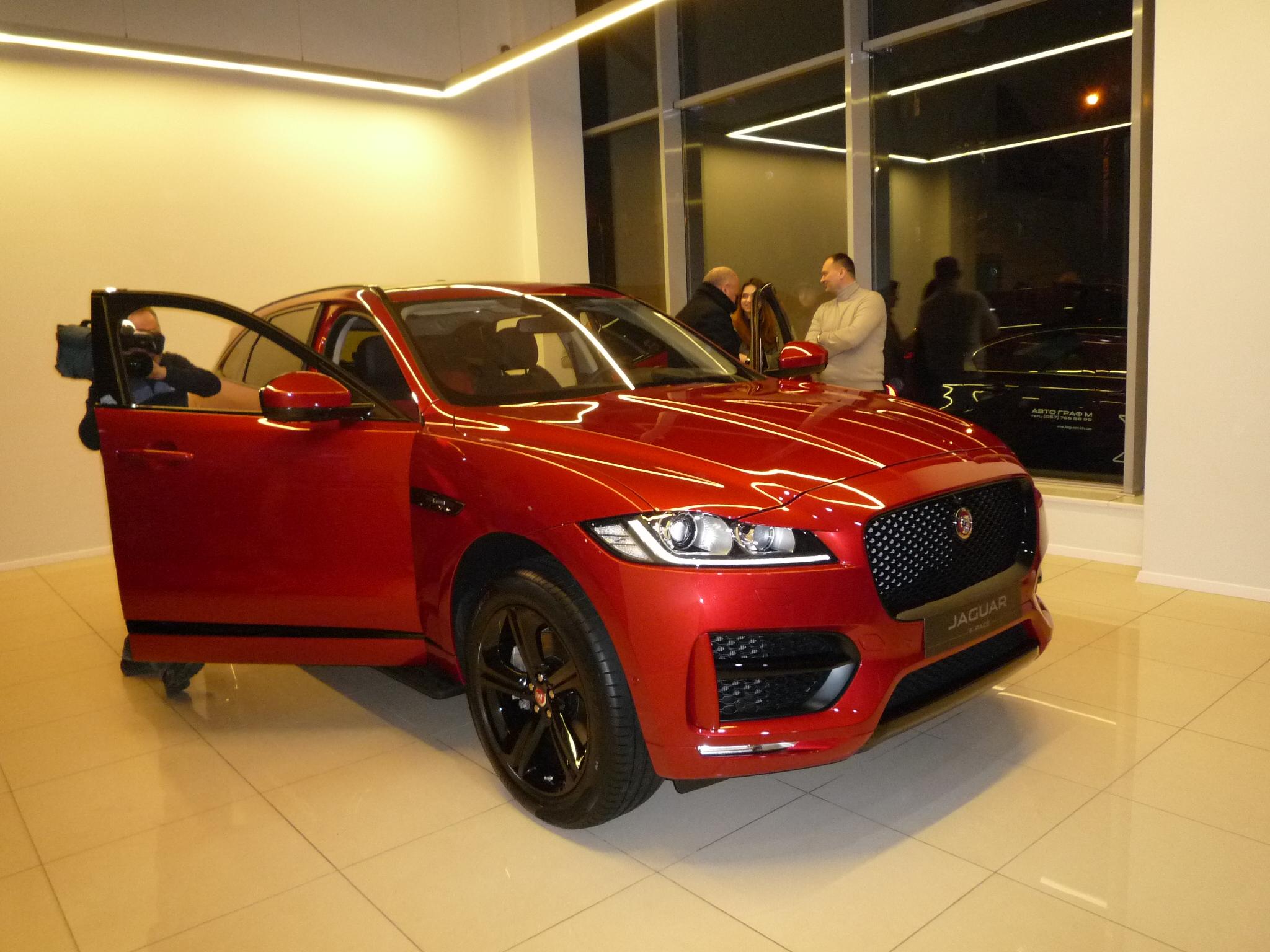 Новый кроссовер Jaguar F-PACE приехал в Харьков (ФОТО)