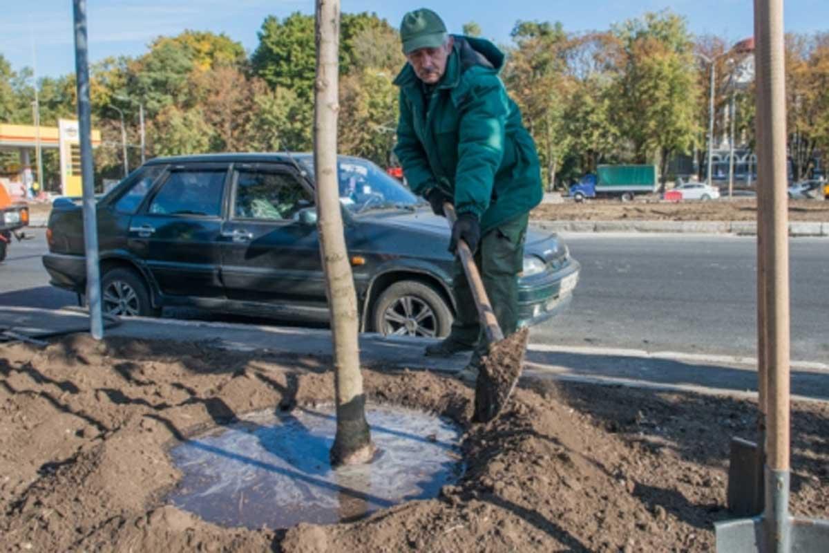 В центре Харькова очистят воздух