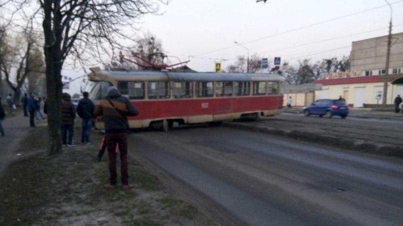 В Харькове трамвай покалечил пассажиров (ФОТО)
