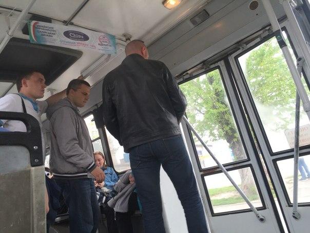 Пассажиров транспорта запугали