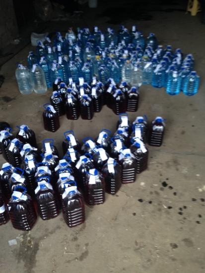 Харьковчан травили сахарной выпивкой