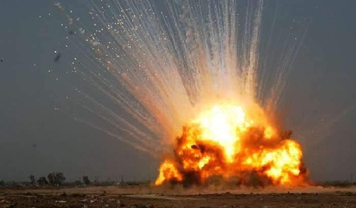Взрывная пятница на Харьковщине