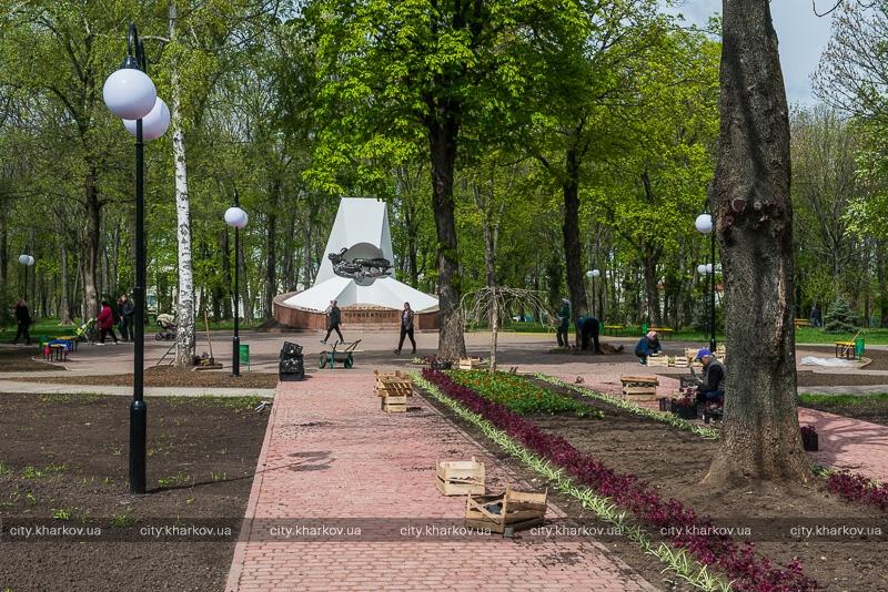 Харьков превратят в цветник