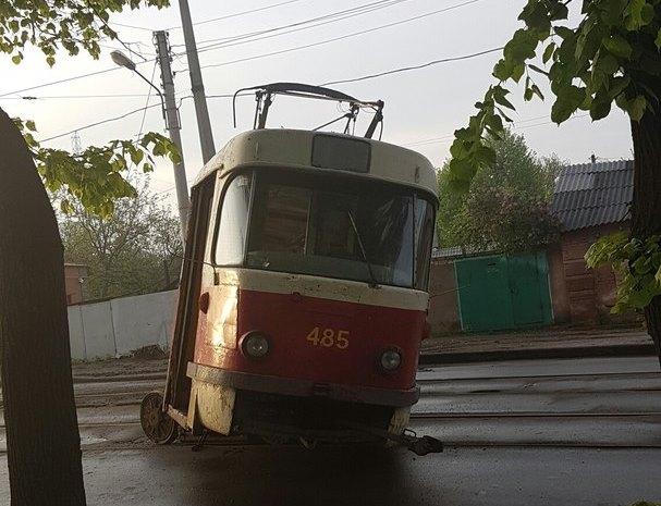 Харьковский транспорт окутал себя романтикой (ФОТО)