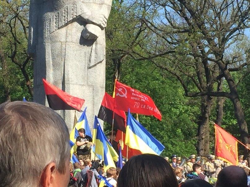 Харьковчанину с флагом грозит тюрьма