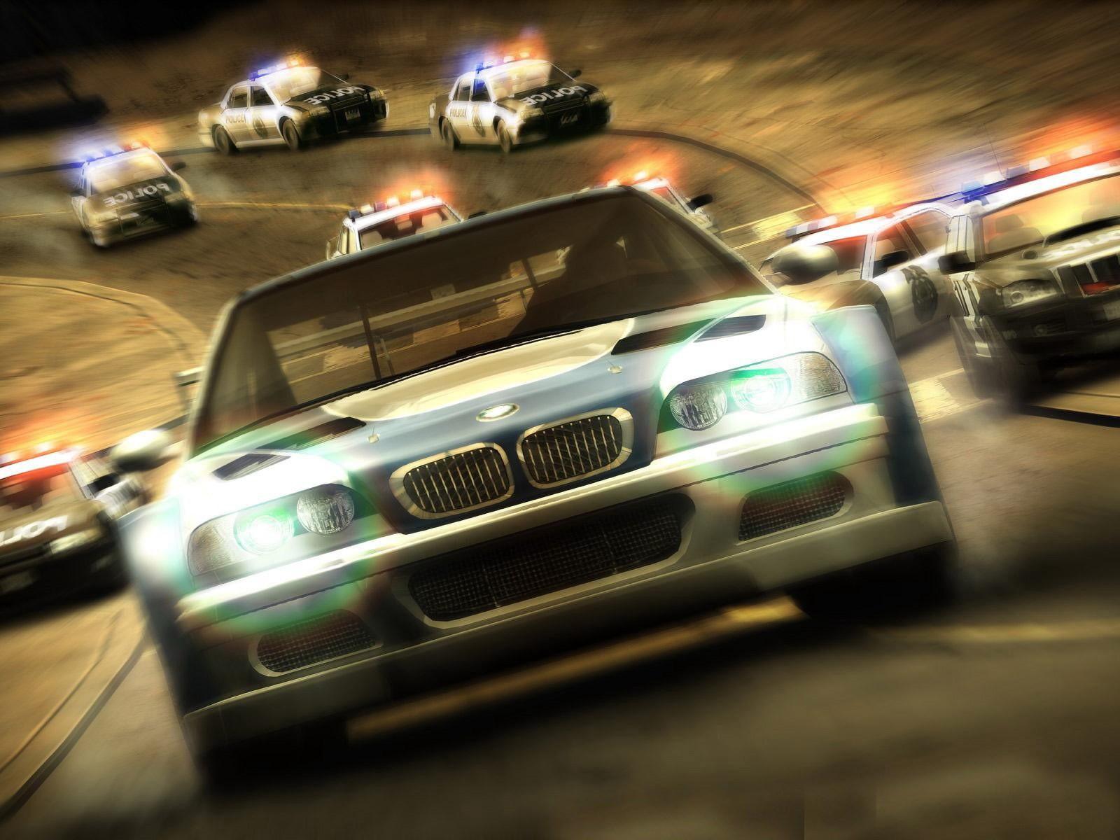 Необычную гонку устроили полицейские