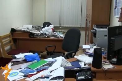 В Харькове навели шороху в госучреждении