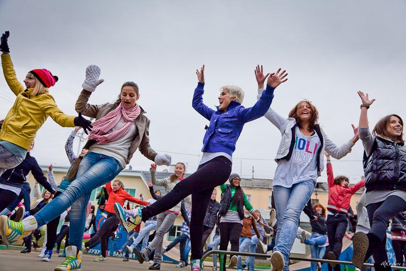 Харьковчане устроят массовые танцы