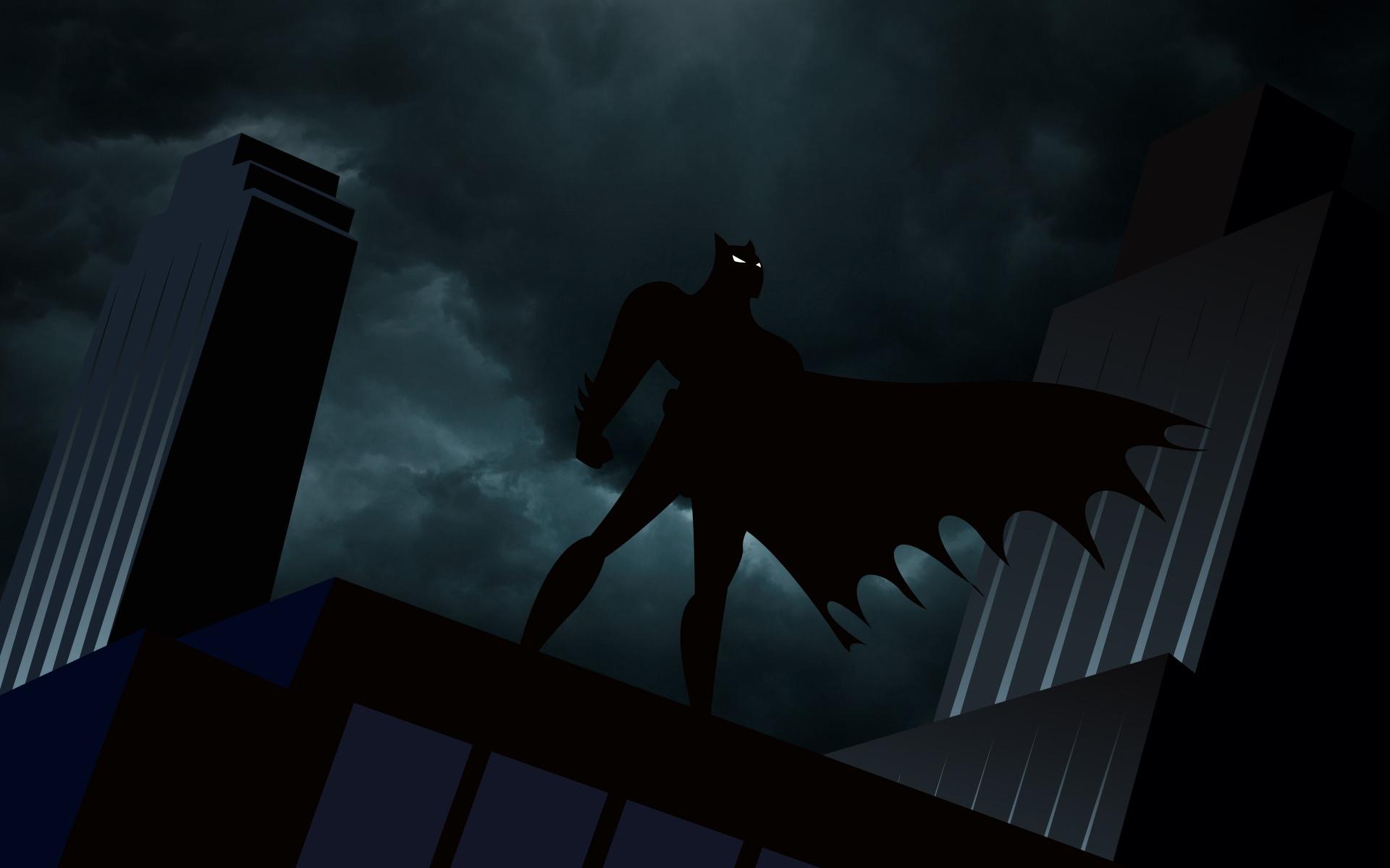 Злобный бэтмен напугал жителей элитного района