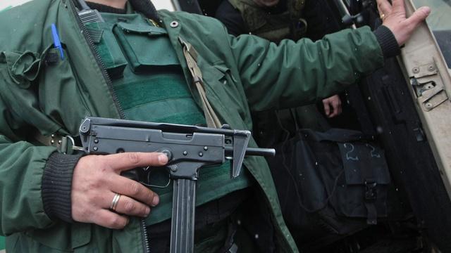 Инкассаторов подбили в Харькове (ФОТО)