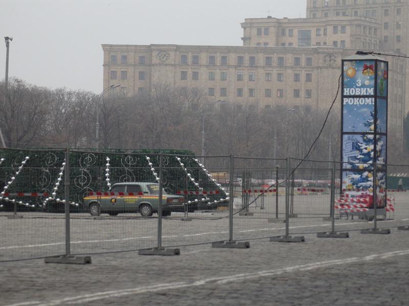 Праздничная шумиха накрыла Харьков (ФОТО)
