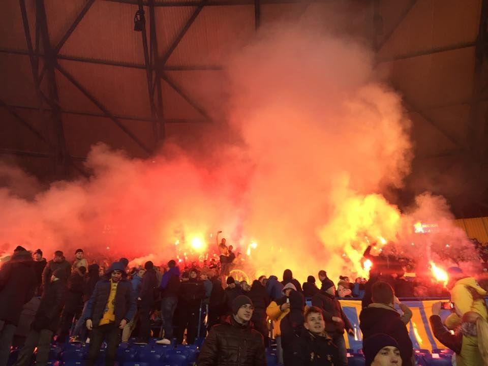 Харьковские фанаты подставили Украину
