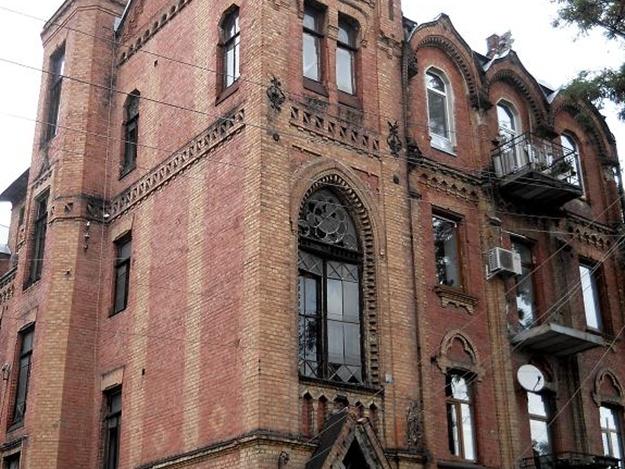 Необычный замок обнаружили в центре Харькова