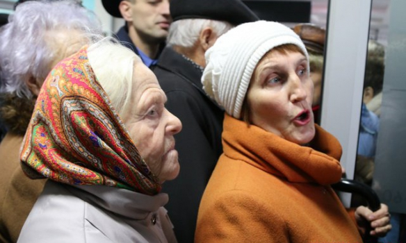 Пенсионеры в Харькове начали паниковать