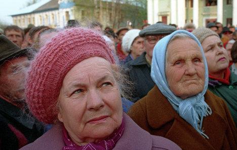 Харьковчане будут содержать тысячи стариков