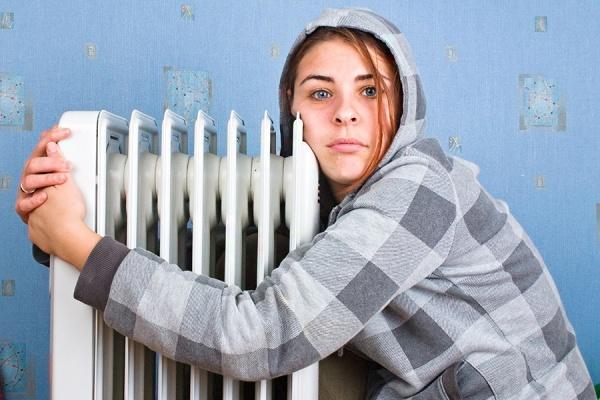 В Харькове замерзли восемь человек