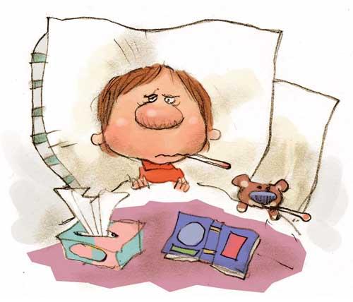 Неприятная болезнь укладывает харьковских детей в постель