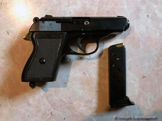 На Харьковщине полицейские остановили провоз оружия (ФОТО)