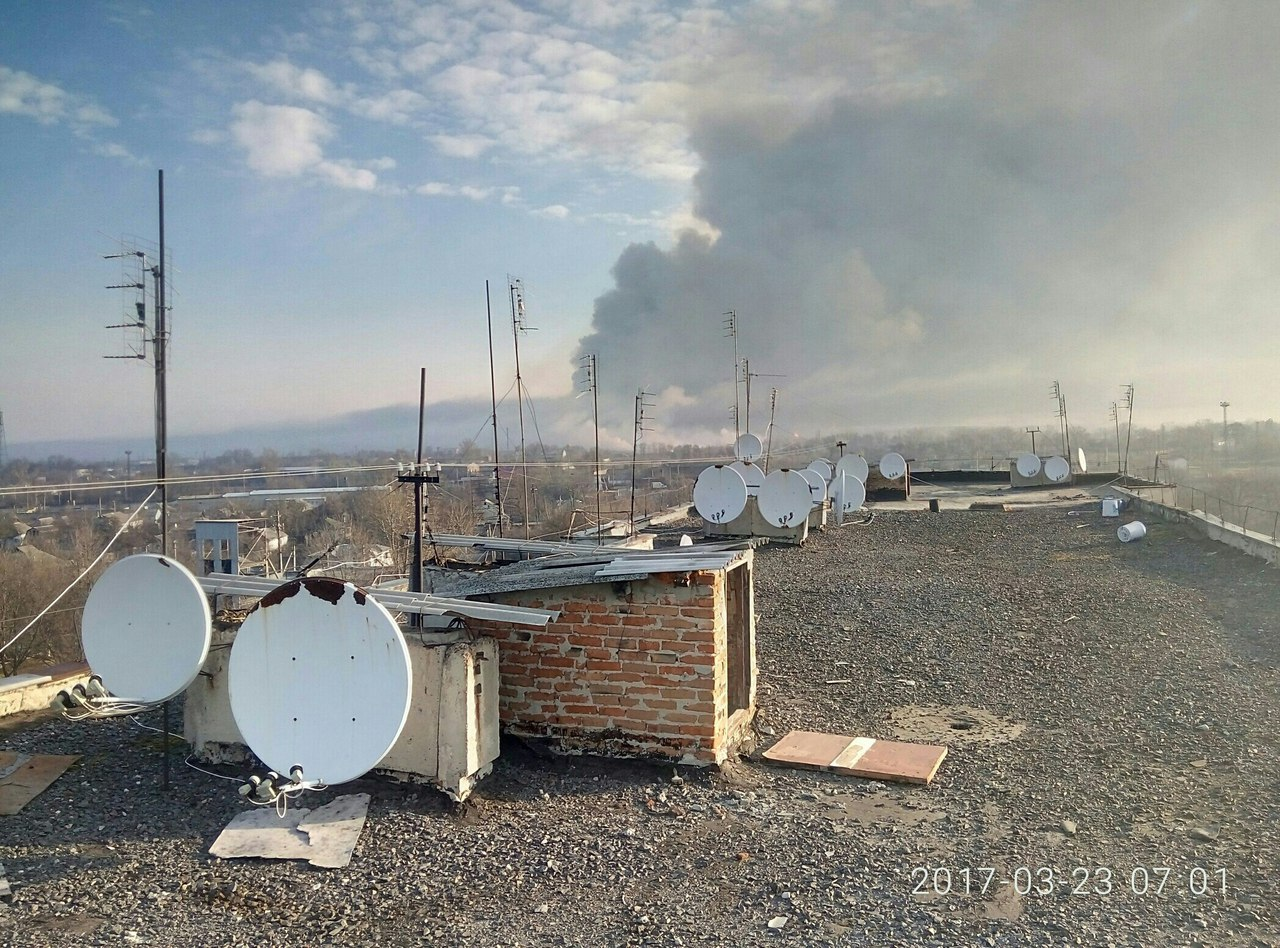 Волна паники распространяется по Харьковской области