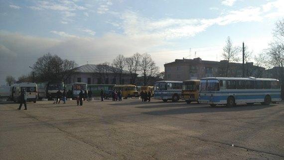 Жители Балаклеи начали возвращаться в город
