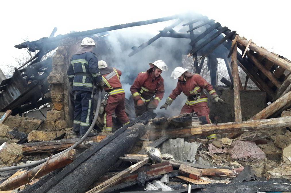 Новый взрыв произошел в Харьковской области