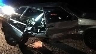 В результате столкновения машин пострадал мужчина (ФОТО)