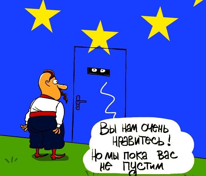Европейцы выступили против безвиза для Украины