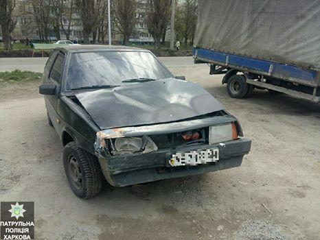 Беглеца обнаружили на Салтовке (фото)
