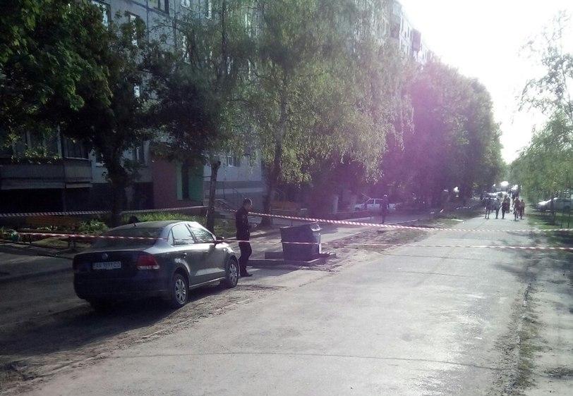 Правоохранители устроили переполох на Салтовке (фото, видео)