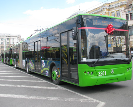 В Харькове появится новый транспорт