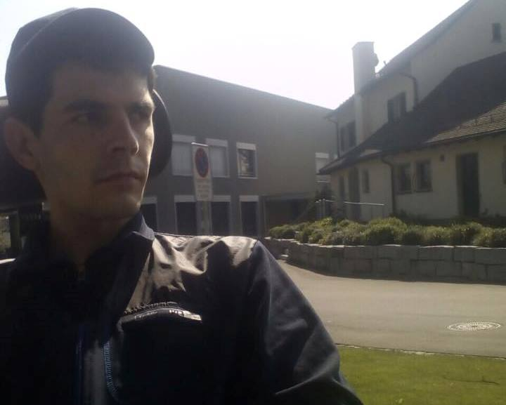 К харьковскому копу, который лечится в Швейцарии, наведались неожиданные гости