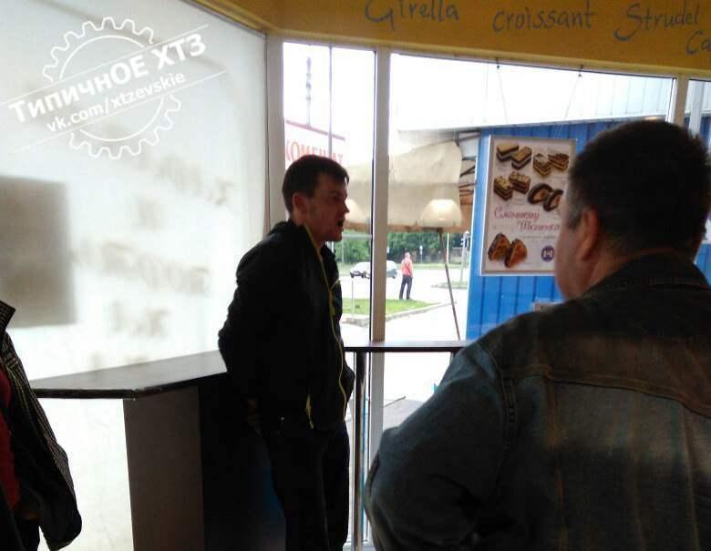 ЧП в харьковском кафетерии. Псих набросился на пенсионерку (фото)