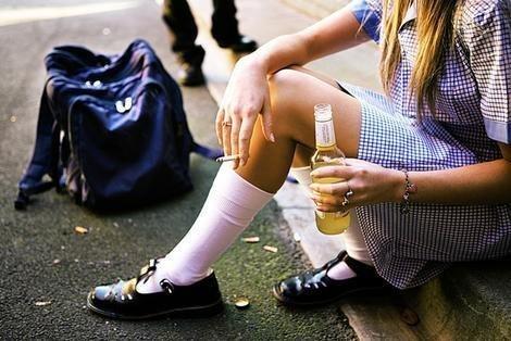 Харьков захлестнула волна подросткового пьянства