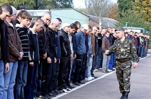 Харьковчан вне очереди призовут в армию