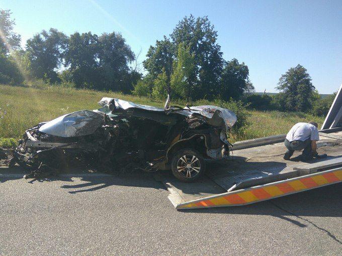 Жуткая авария в Харькове. Опубликованы фото с места происшествия