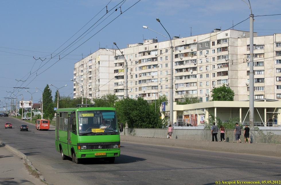 На Салтовке водитель маршрутки покалечил пассажира