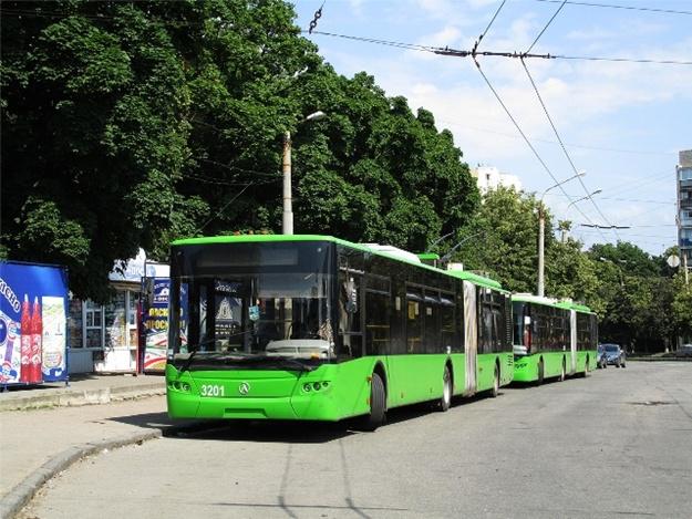 В Харькове хотят запустить новый троллейбусный маршрут