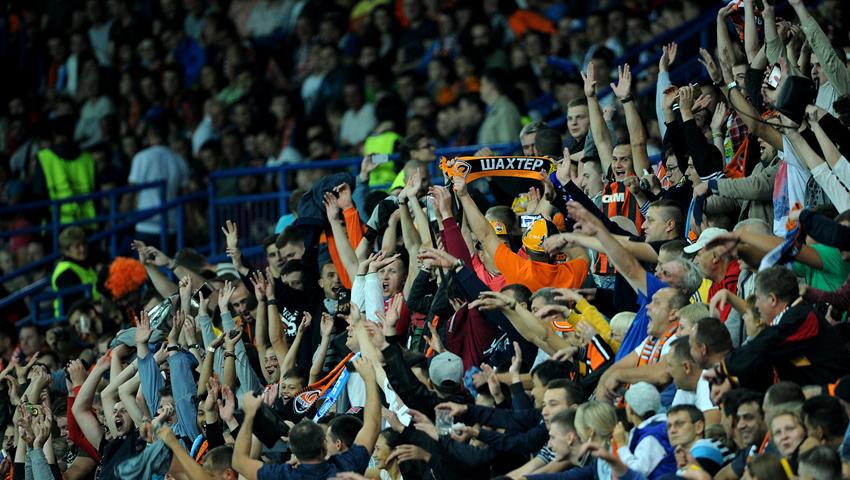 Конфликт произошел на матче Лиги чемпионов в Харькове (видео)