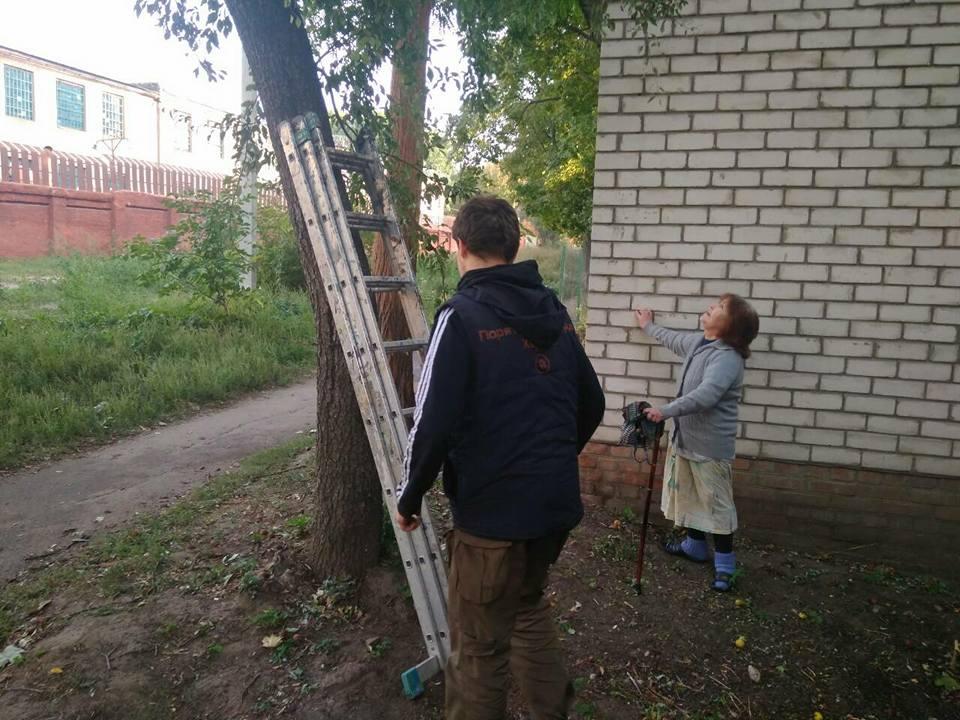 В Харькове пенсионерка на неделю потеряла покой из-за кота