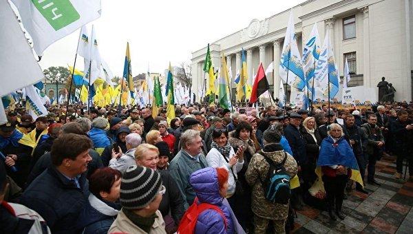 Акция протеста в Киеве. Как требования митингующих помогут обычным украинцам