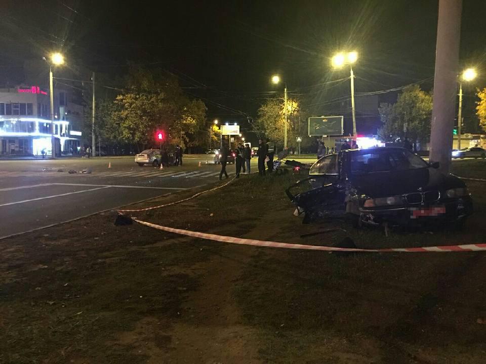 Очередная трагедия на Салтовке. В аварии погиб молодой мужчина