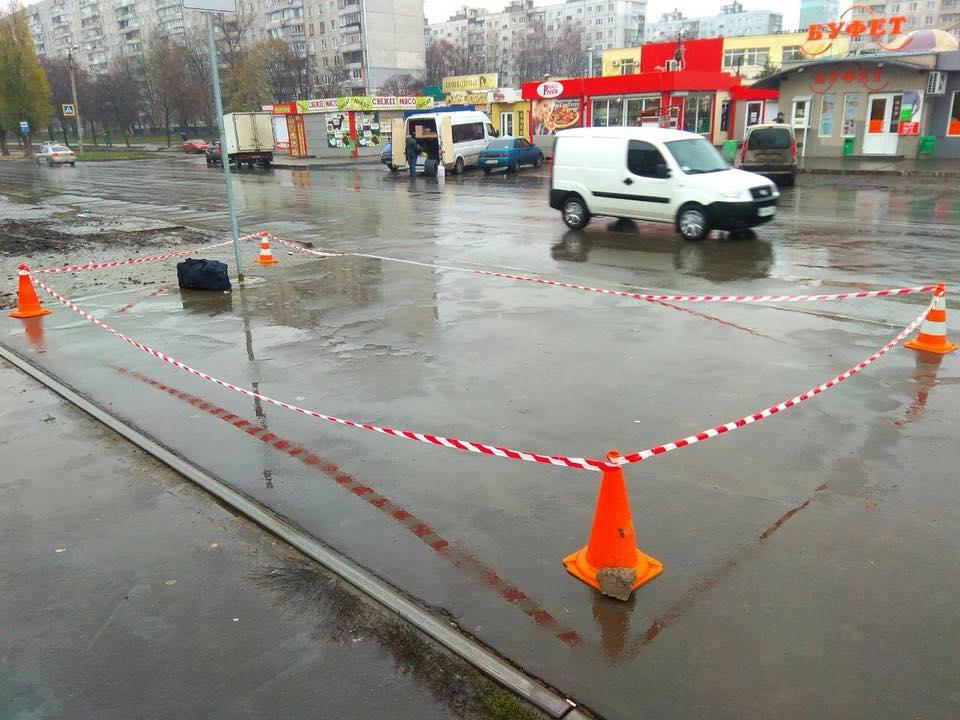 В Харькове прохожие поставили на уши полицию (фото, дополнено)