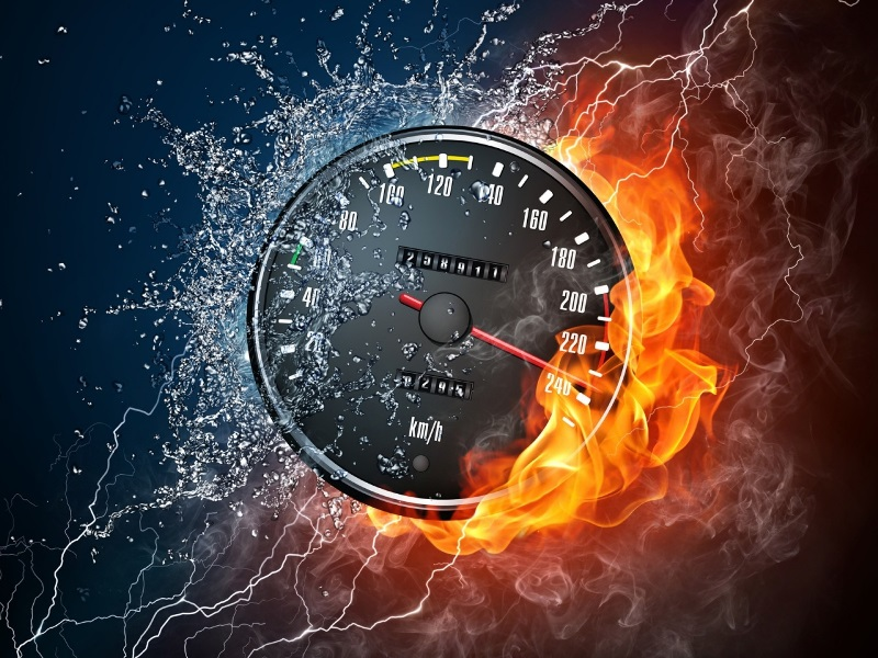 Новый скоростной режим. В Харькове нет нужных приборов контроля