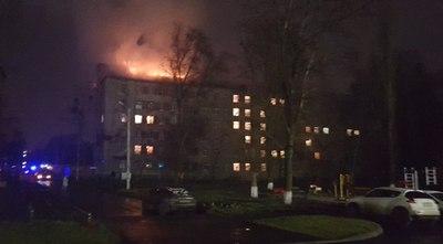 Крупный пожар произошел в Харькове. Горела многоэтажка (фото)