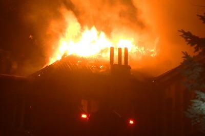 Крупный пожар в центре Харькова. Подробности (фото)