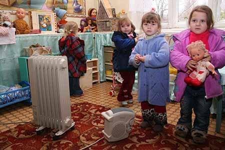 На Салтовке дети вынуждены сидеть в холоде