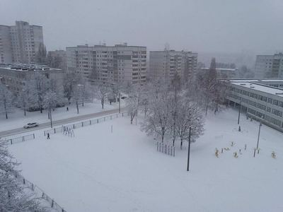 Харьков завалило снегом (фото)
