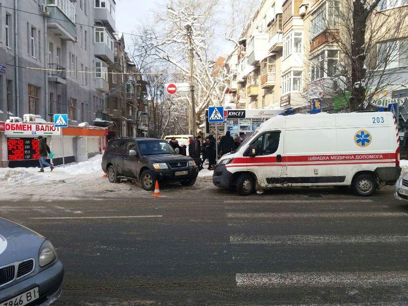 Харьковчанка угодила в неприятность в центре города (фото, видео)