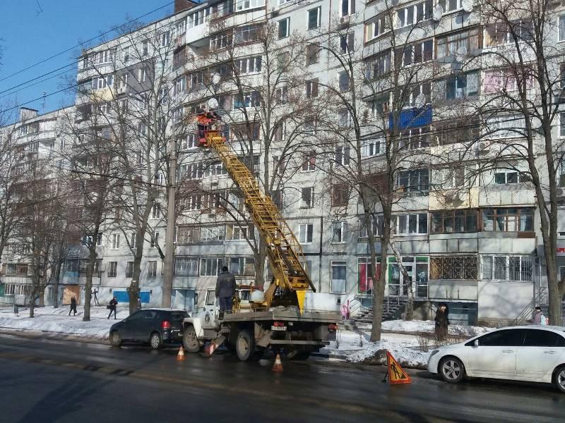 В Харькове остановились троллейбусы