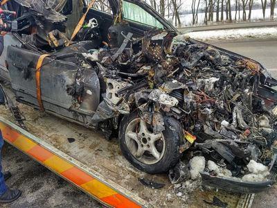 Страшная авария под Харьковом. Фото с места трагедии